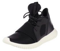 Sneaker mit Kontrastbesatz
