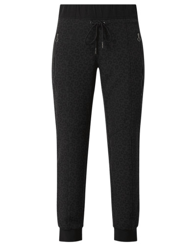 Relaxed Fit Jogpants mit Leopardenmuster