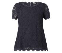 PLUS SIZE – Shirt mit floraler Spitze