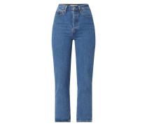 Straight Fit Jeans mit Stretch-Anteil Modell 'Ribcage'