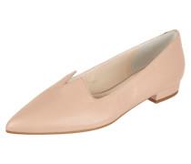 Ballerinas aus fein genarbtem Leder