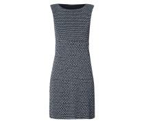 Kleid aus Mesh mit Punktemuster