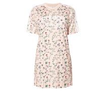 Shirtkleid mit floralem Muster