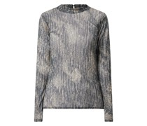 Shirt mit Allover-Muster Modell 'Emia'