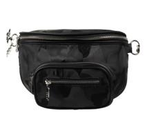 Crossbody Bag mit Schulter- und Kettenriemen