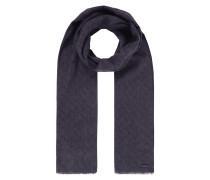 Schal mit eingewebtem Muster