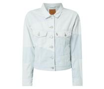 Trucker Jacket aus Baumwolle