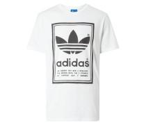 T-Shirt mit großen Logo-Prints