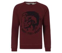 Sweatshirt mit strukturiertem Logo