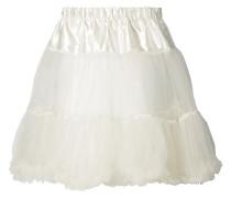 Petticoat mit Kontrasteinsatz am Bund