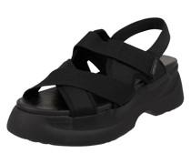Sandalen aus Textil Modell 'Essy'