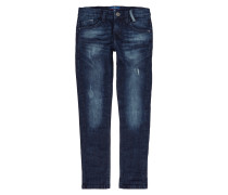 Used Slim Fit Jeans mit Stretch-Anteil