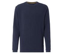 Pullover aus Waffelstrick
