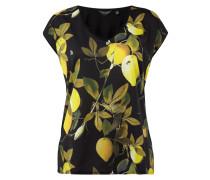 T-Shirt mit Zitronen-Print
