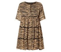 Kleid mit Tigermuster