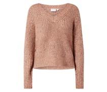 Pullover aus Mouliné Modell 'Fresh'