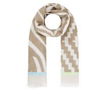 Schal mit Allover-Muster