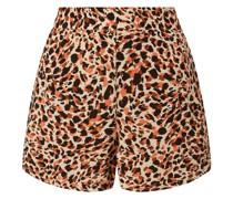 Shorts aus Viskose