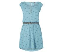 Kleid mit Schmetterlingsmuster