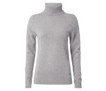 Rollkragen-Pullover aus reiner Wolle