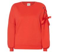 Sweatshirt mit dekorativen Schnürungen