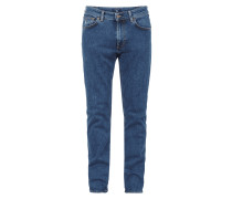 Regular Straight Fit Jeans mit Stretch-Anteil