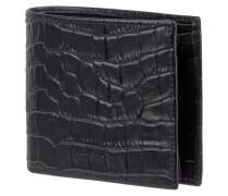 Geldbörse aus Leder in Krokodillederoptik