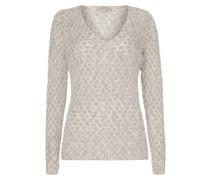Pullover mit eingestrickten Punkten