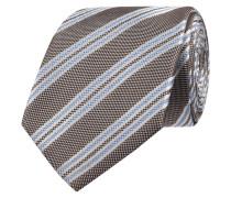 Krawatte aus Seide mit Streifen-Dessin