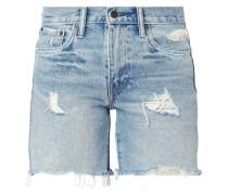 5-Pocket-Jeansshorts im Destroyed Look