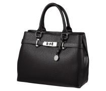 Handtasche mit zwei Reißverschlussfächern