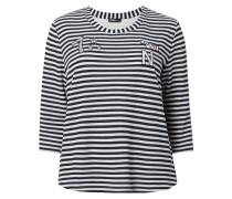PLUS SIZE - Strickshirt mit Streifenmuster
