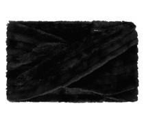 Loop-Schal aus Kunstfell