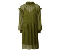 Kleid aus fein strukturiertem Chiffon