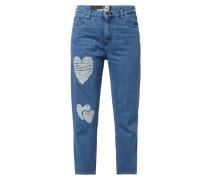 Boyfriend Fit Jeans mit Destroyed-Effekten