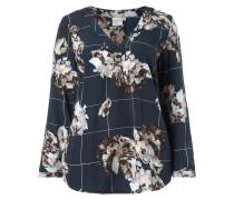 PLUS SIZE - Blusenshirt mit floralen Details