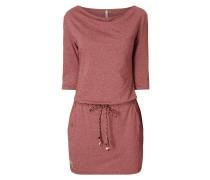 Kleid mit Flechtgürtel