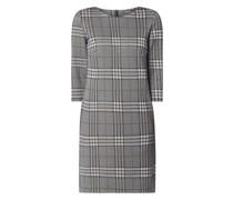 Kleid mit Glencheck-Muster