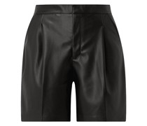 Shorts in Leder-Optik Modell 'Karlee'