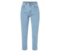 Mom Jeans mit hoher Leibhöhe