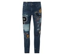Slim Boyfriend Fit Jeans im Destroyed Look