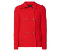 Jacke aus Wollfilz mit 2-reihiger Knopfleiste