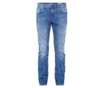 Slim Fit Jeans im Used Look