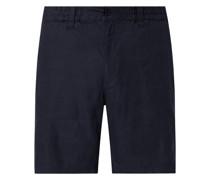 Shorts aus Leinenmischung Modell 'John'