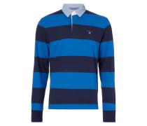 Rugby-Shirt mit Kontrastkragen