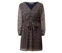 Kleid mit Allover-Muster Modell 'Cera'