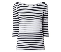 Shirt mit Streifenmuster Modell 'Nudaia'
