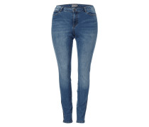 PLUS SIZE - Stone Washed Slim Fit Jeans