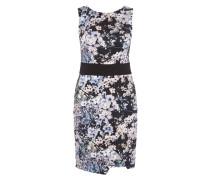 Kleid aus Neopren mit Blumenmuster