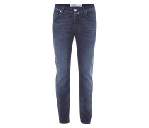 Stone Washed Jeans inklusive Halstuch